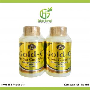 Jelly Gamat Gold G 250ml