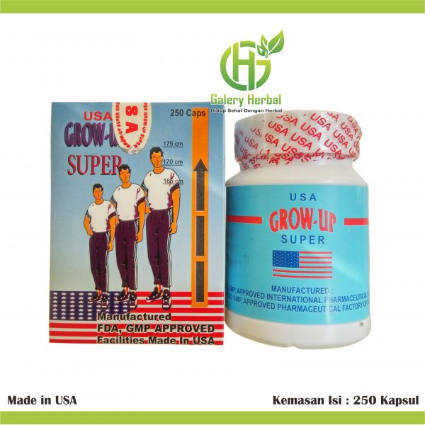 Grow Up Super USA (Peninggi Badan)