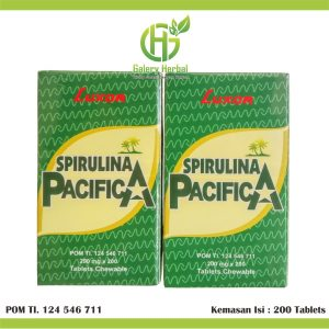 Spirulina Pacifica Luxor 200 Tablets