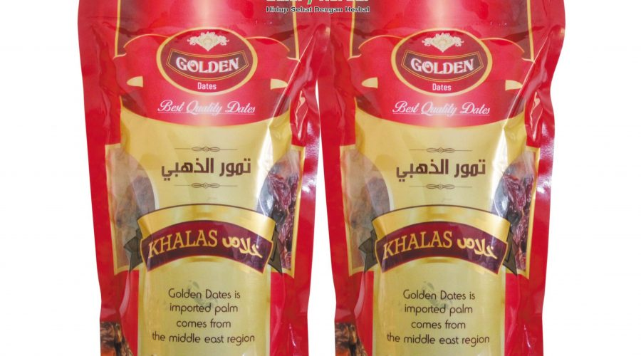 Kurma Golden Dates Khalas 500gr